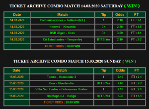 Combo Football Matches